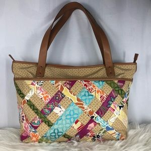 Relic by Fossil Quilted Shoulder Bag